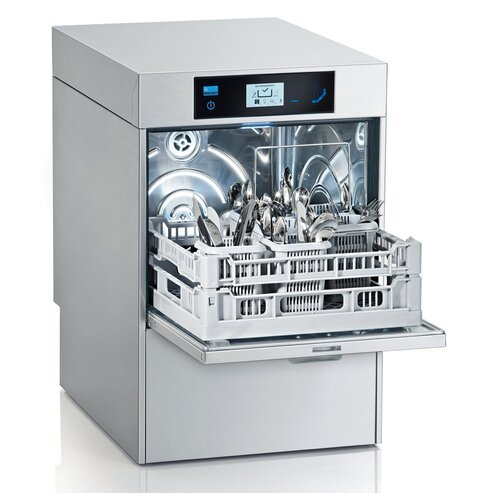 Commercial undercounter dishwasher