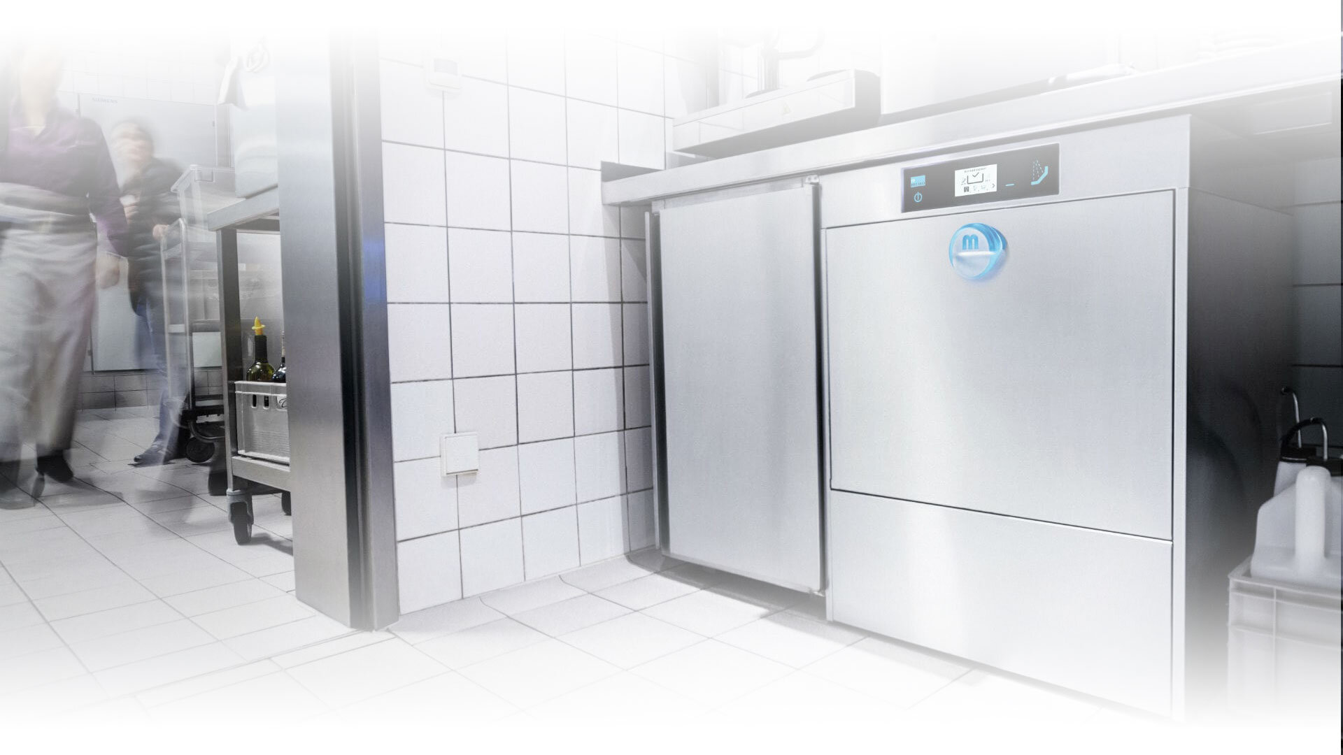 MEIKO M-iClean U  Undercounter dishwashing machines