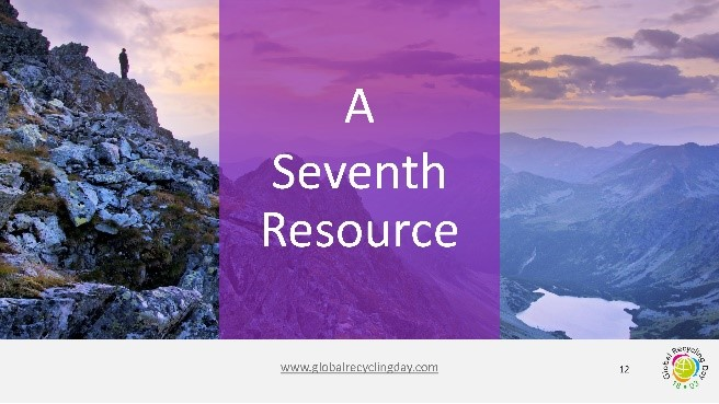 The seventh resource isn't finite.